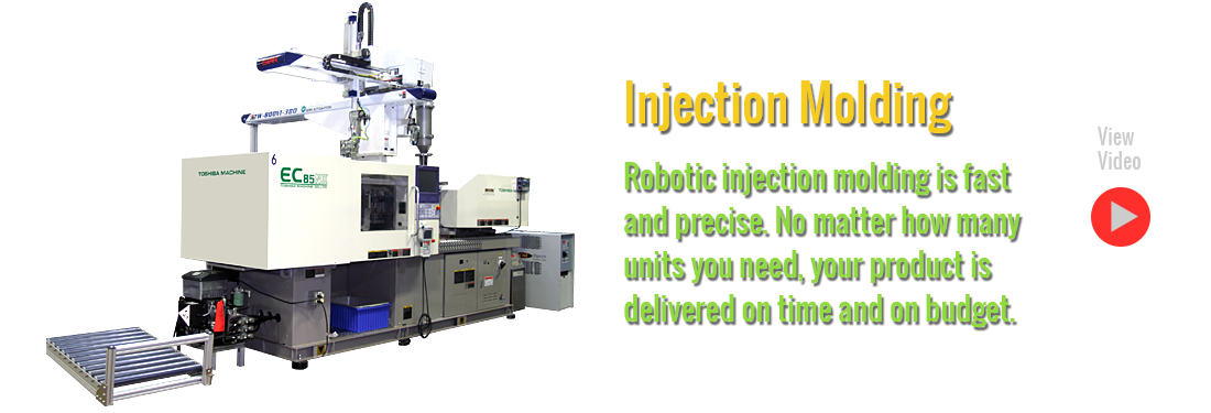 Millar Industries provides Robotic Plastic Injection Molding Services