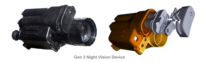 A&M Produces components for the Gen 3 Night Vision Device